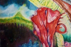 bez tytułu, 2004, 53 x 40 cm